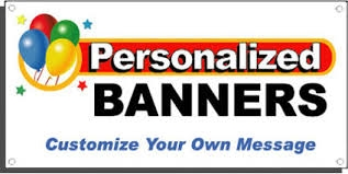 Banners, Vinyl, Personalized, 54