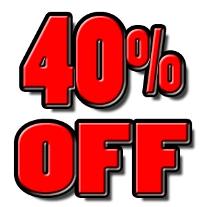 40% Off Artificial Trees!