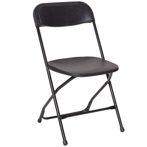 PRE Black Plastic Dining Chair