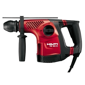 Hilti TE 30 Tool with Case (Drill Bits Not Included)