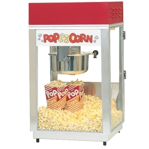 Popcorn Machine 6oz kettle