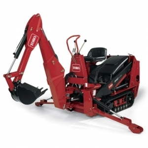 "Toro Co. Backhoe w/ 13"" bucket"