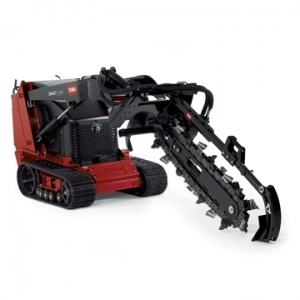Trencher attachment fits Toro 36