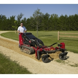 Dingo Power Box Rake (for finish grading, sod prep, backfilling)