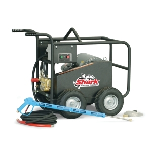 SHARK 5 @ 5000  20HP 460V 3P COLD WATER BELT DRIVE PRESSURE WASHER
