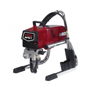 Titan Tool RentSpray 500 skid (labeled 440 Impact) (.54GPM, 7/8HP Motor)