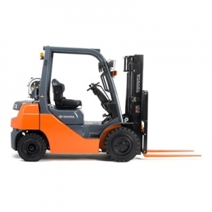 Atlas Toyota Gas Forklift, 15' high, 5,000 lb.