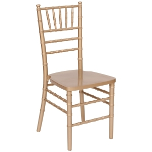 CHAIR, GOLD CHIAVARI
