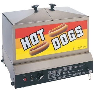 Gold Medal Steamon Demon Hot Dog Steamer