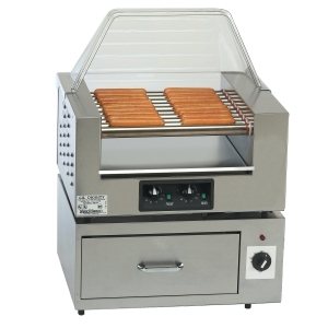 Gold Medal Lil Digity Hot Dog Roller Grill
