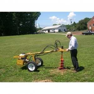 MACKISSIC - EASY AUGER II ONE-MAN HYDRAULIC EARTH DRILL