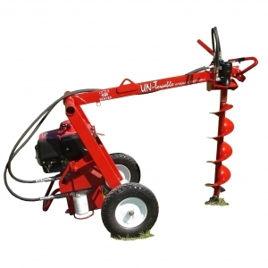 Little Beaver Hydraulic Non-Towable Earth Drill, 11hp. Honda