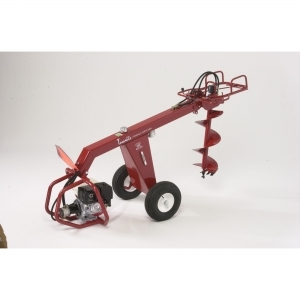 Auger Little Beaver Hydraulic Towable, 11hp. Honda