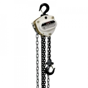 JET L-100 Series Manual Chain Hoist 1 Ton 10' Lift and Overload Protection