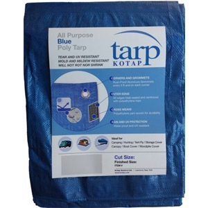 Kotap America Ltd. All-Purpose Blue Poly Tarp