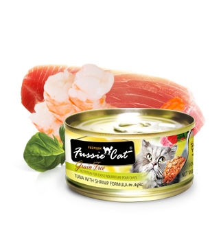 Fussie Cat® Premium Tuna with Shrimp in Aspic