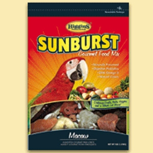Sunburst Macaw Gourmet Bird Food