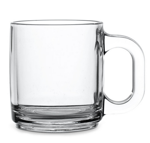 Libbey, 5201 10 Oz Warm Beverage Glass Mug