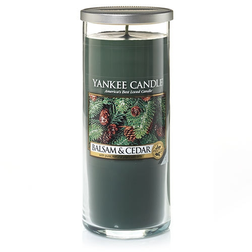 Yankee Canlde® Balsam & Cedar - Large Perfect Pillar