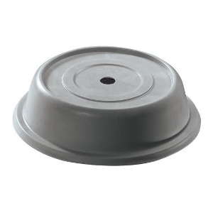 Granite Gray Round Plate Cover, 10 13/32