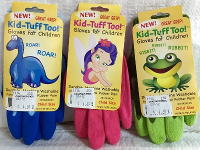 LFS Gloves Kid Tuff-Too, Children's Gardening Gloves