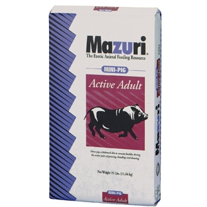 Mazuri Active Adult Mini Pig Feed