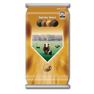Right Now® Gold Cattle Mineral Supplement