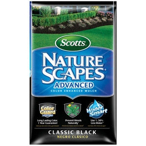 Scotts® Nature Scapes® Advanced Classic Black Mulch