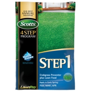 Scotts Miracle-Gro Step 1 Crabgrass Preventer Plus Lawn Food