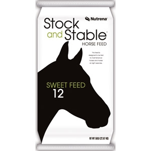 Nutrena Stock and Stable Textured Horse Feed