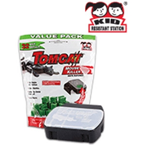 Tomcat® Refillable Mouse Killer X Bait Station Bag