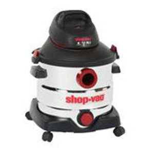 Shop-Vac, 8 Gallon 5.5 HP Stainless Steel Wet / Dry Vacuum