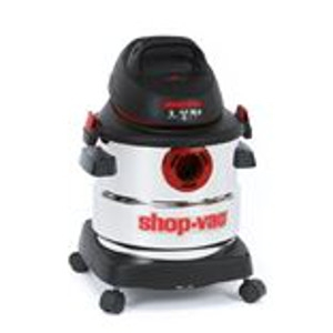 Shop-Vac, 5986000 5-Gallon 4.5 Peak HP Stainless Steel Wet Dry Vacuum