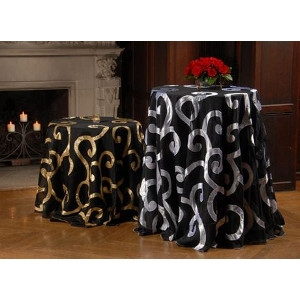 Swirling Fantasy Collection Table Linen