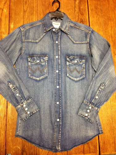 Wrangler Snap Denim Shirt