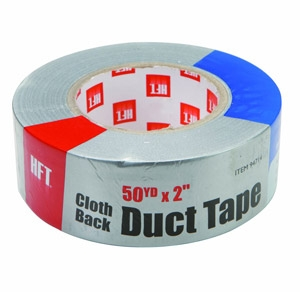 HFT Cloth Back Silver Duct Tape
