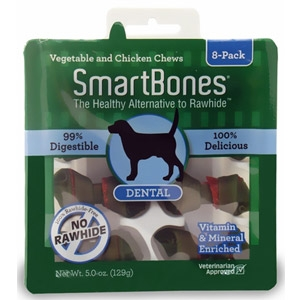 Pet Matrix™ SmartBones 8-pack Mini Dental Flavor Chews