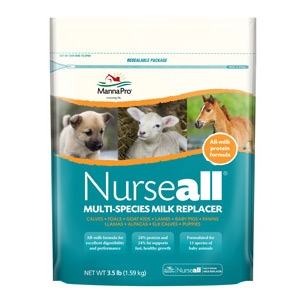 NurseAll® Milk Multi-Species Milk Replacement
