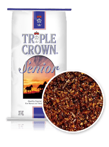 Triple Crown Senior Horse Feed Formula-50 lbs