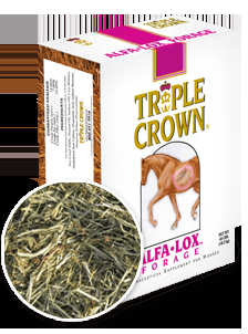 Triple Crown Alfa-Lox Forage® Horse Feed-40 lbs