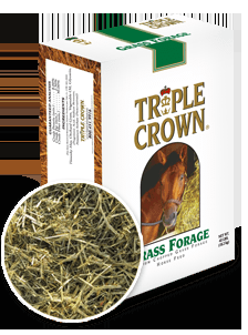 Triple Crown Premium Chopped Grass Forage Horse Feed-40 lbs