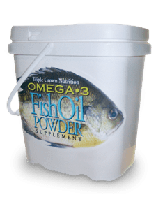 Triple Crown Fish Oil Powder Horse Supplements
