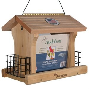 Woodlink, 5lb Audubon Cedar Ranch Bird Feeder