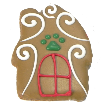 Gingers Winter House Cookie