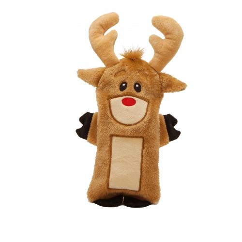 Bottle Buddies Squeaker, Reindeer