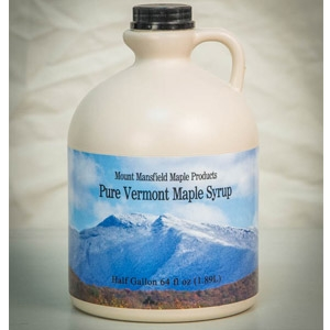 Mount Mansfield Vermont Maple Syrup