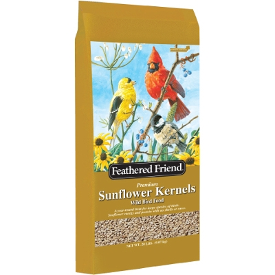 Feathered Friend Sunflower Kernels, 20-lbs.