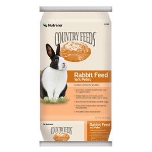 Nutrena® Country Feeds® 16% Rabbit Feed