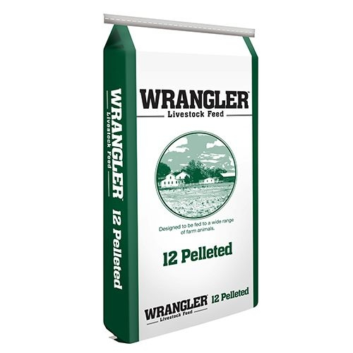 Nutrena® Wrangler™ 12% All Stock Pelleted Feed