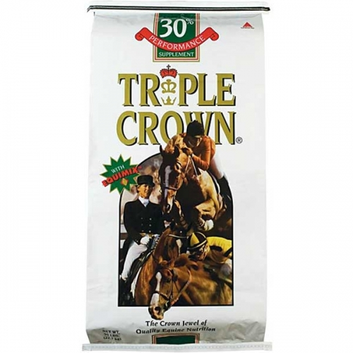 Triple Crown® 30% Pelleted Equine Supplement